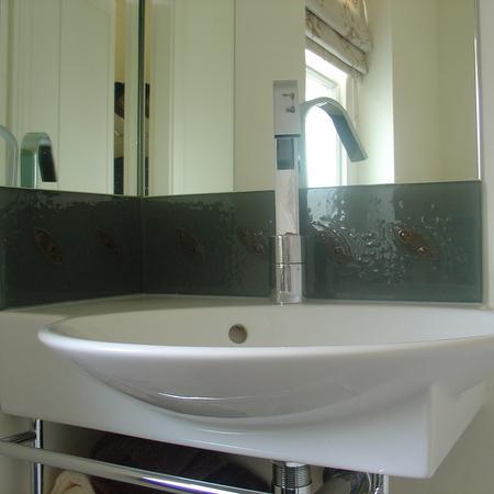 Martin johnsonsandblasting whitby abbey abbey lodge for Bathroom design yorkshire